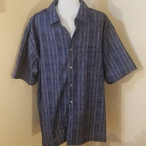 Men's button-down shirt by Van Heusen